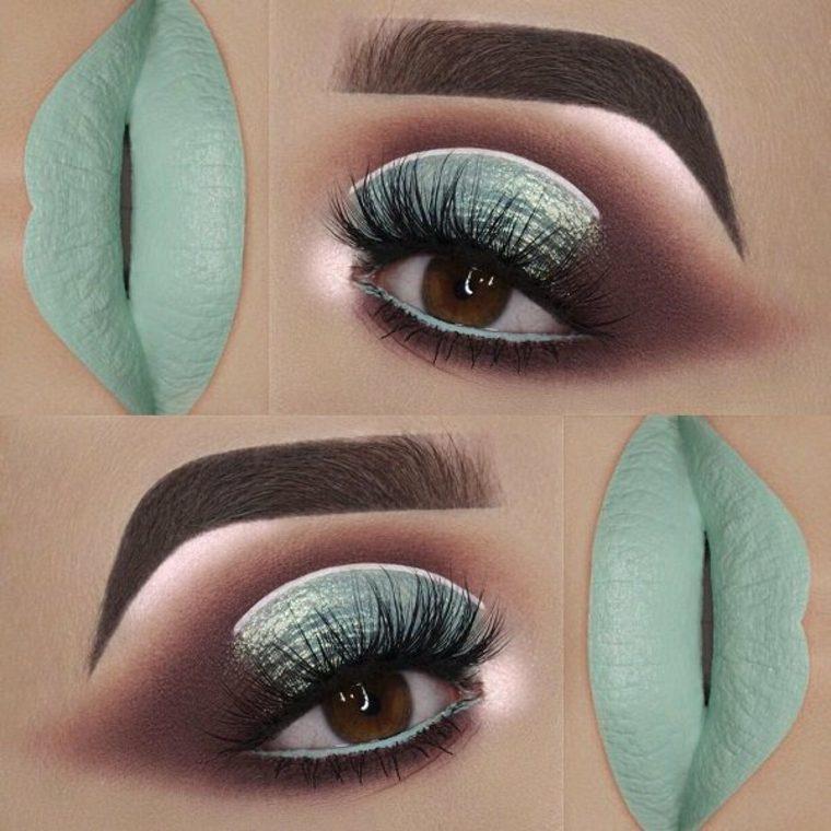 colores para ojos y labios