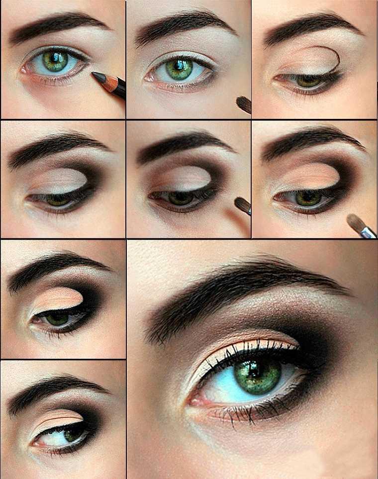 maquillaje-ojos-ahumados-diseno-ideas