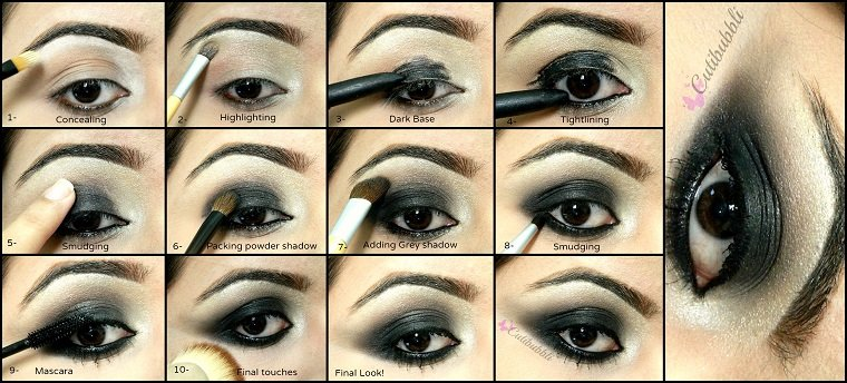maquillaje-ojos-ahumados-negro-estilo-moderno
