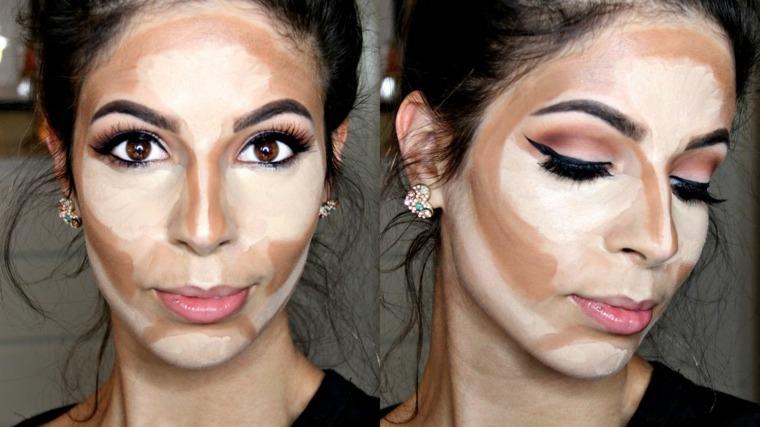 maquillaje paso a paso-tonos-claros-oscuros