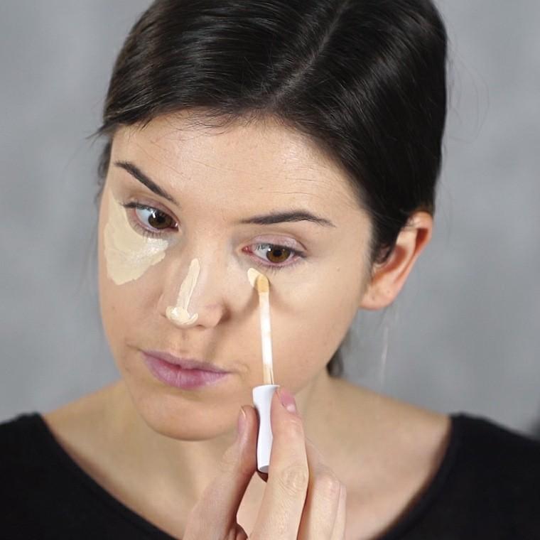 maquillaje paso a paso-tonos-claros