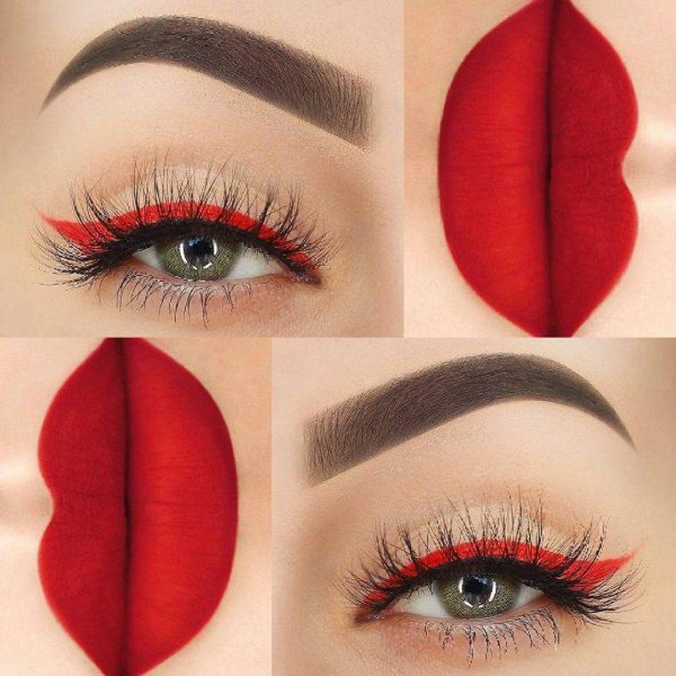 ideas de maquillaje para la noche