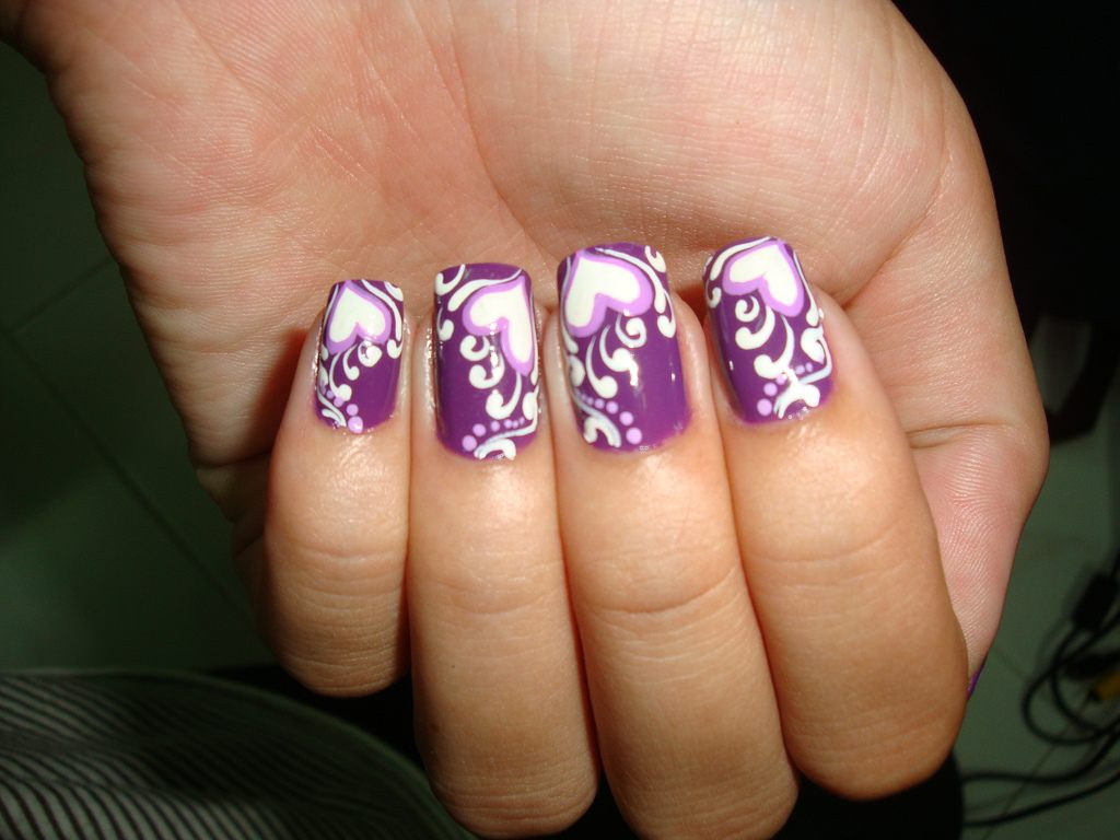modelos de uñas-belleza-san-valentin