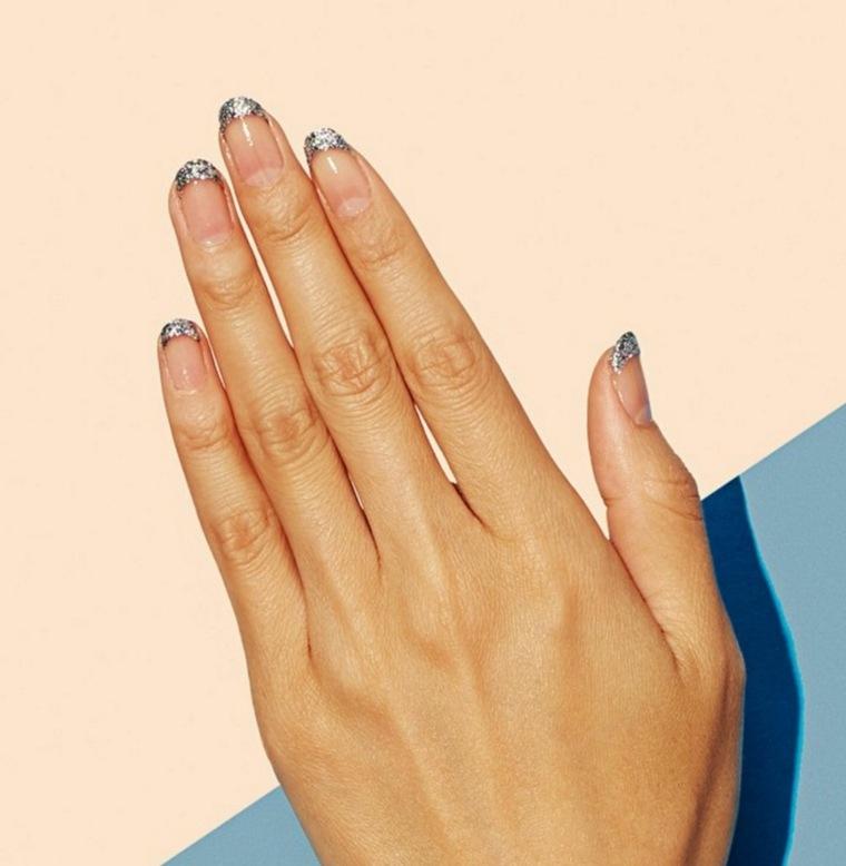 modelos de uñas-estilo-simple