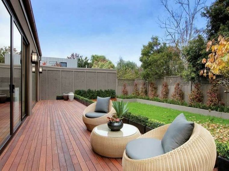 ideas decorar para jardines pequeños