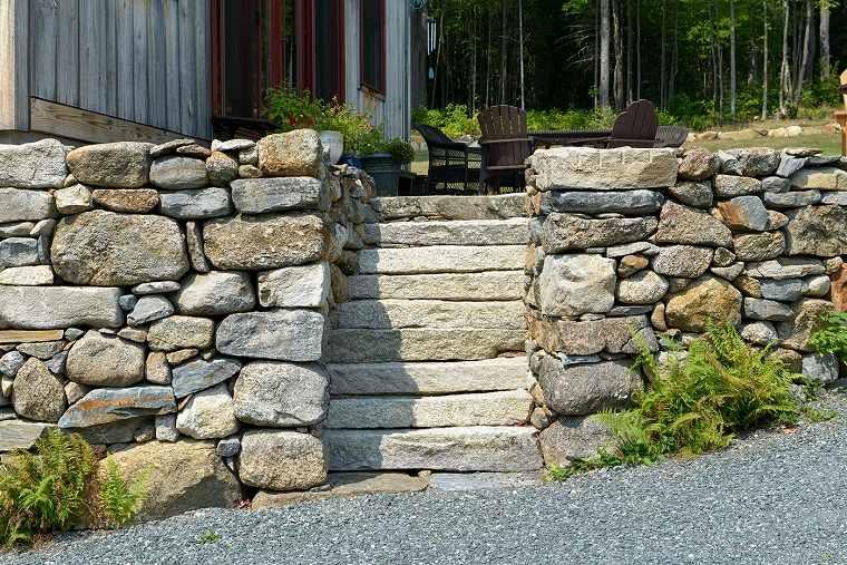 muros constencion pendiente rocosa