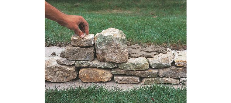 muros sistemas especiales rocas