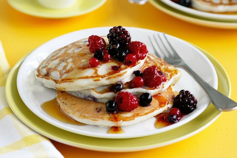 pancakes-con-frambuesas