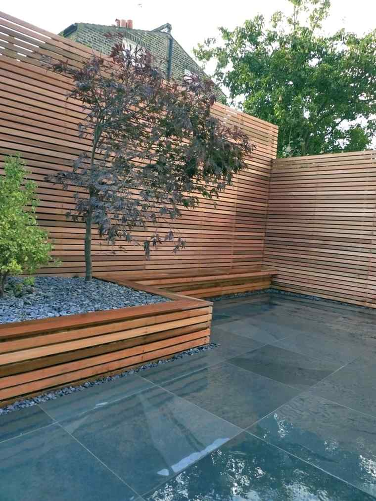 ideas decorar para jardines pequeños minimalistas