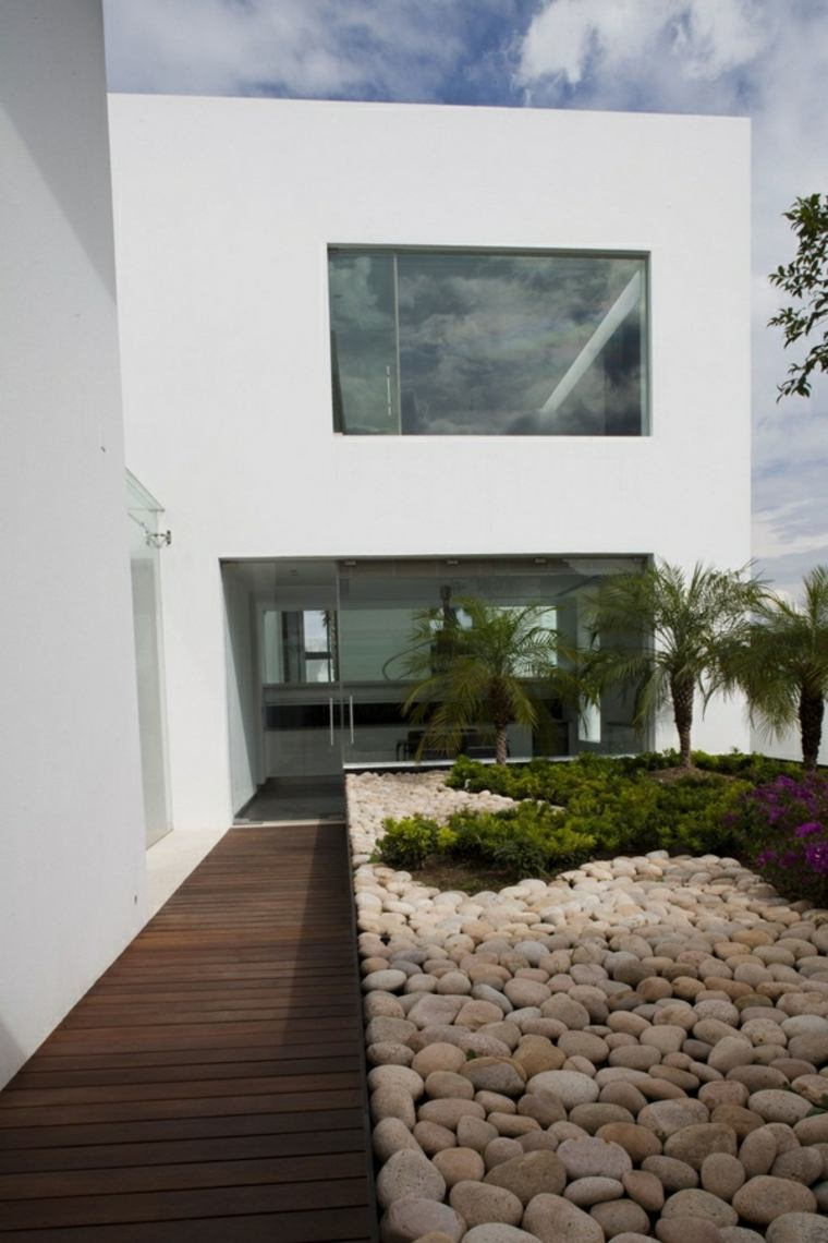 diseñar jardines minimalistas
