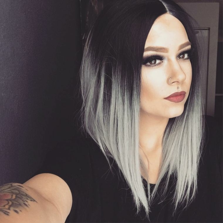 peinado media melena-asimetrico-moderno