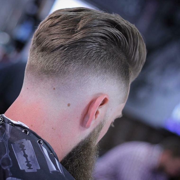 peinado para atras hombre-pelo-rapado