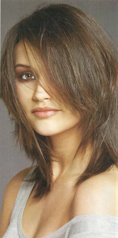 peinado moderno de media melena