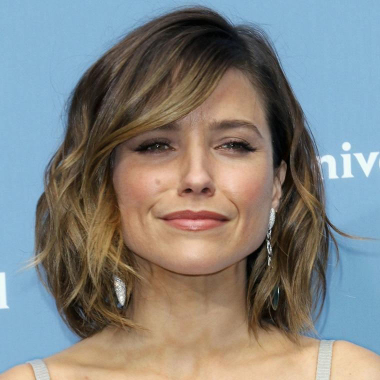 peinados cabello corto hombros-mujeres