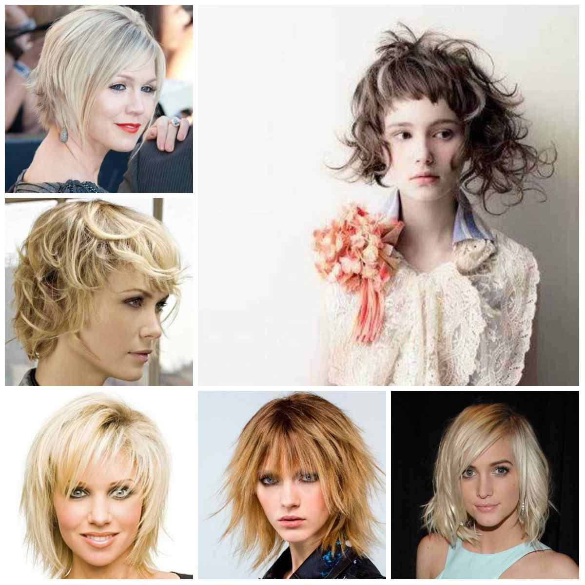 peinados cabello corto mujeres-rubias