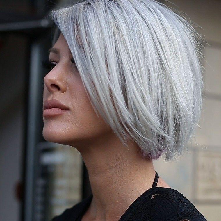 peinados de pelo corto-lado-mujeres