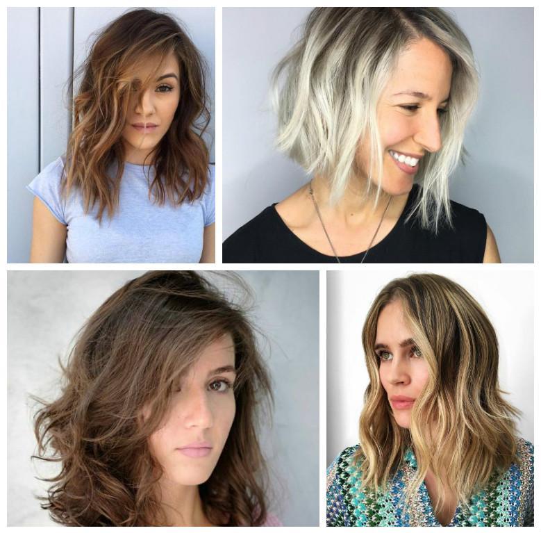 peinados faciles para pelo corto-hombros-mujeres