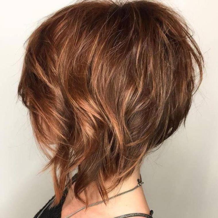 Peinados para pelo corto las nuevas tendencias del a o 2018 - Couper une photo sur paint ...