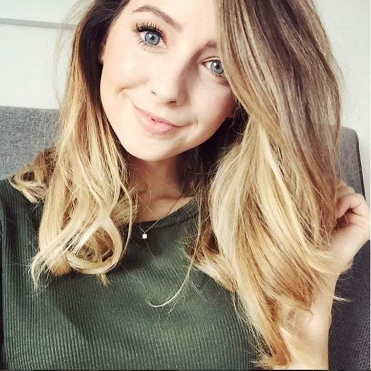 peinados media melena-pelo-suelto