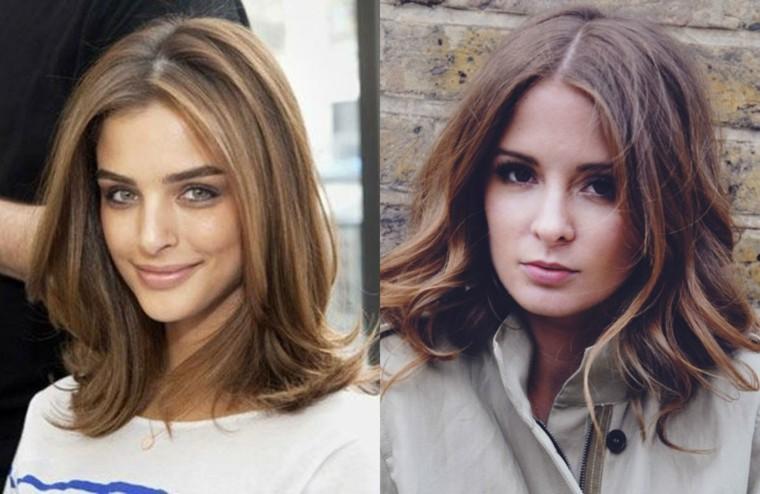 peinados media melena-rubia-mujeres