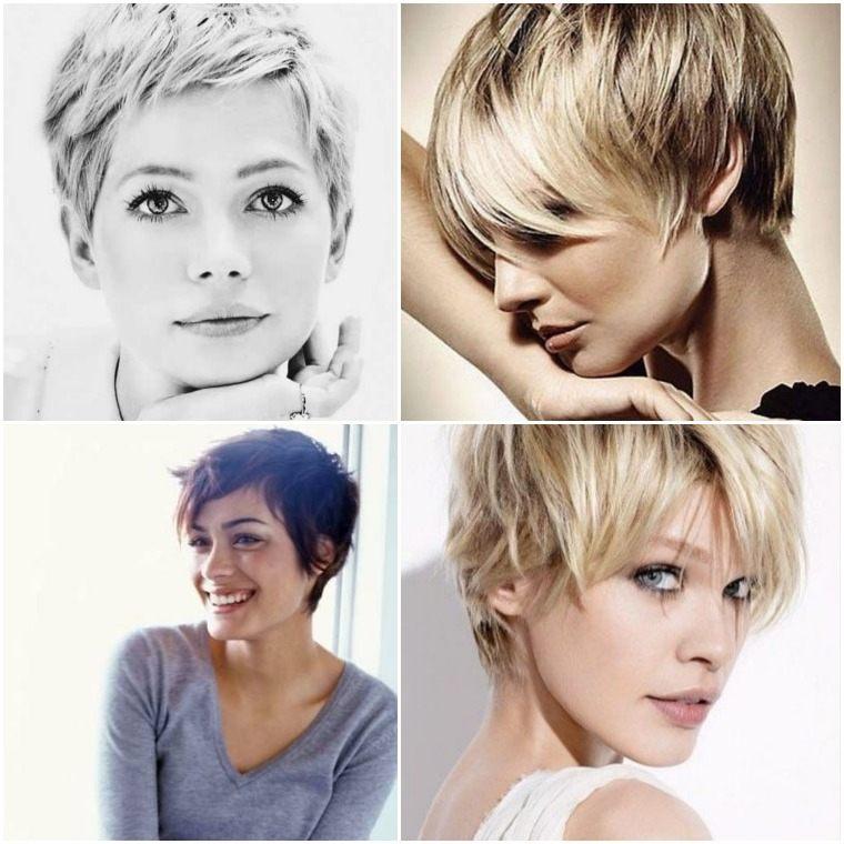 peinados para cabello corto-moderno-mujeres