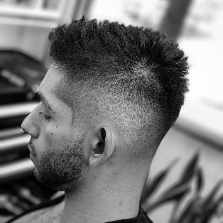 peinados para hombre-pelo-erizado