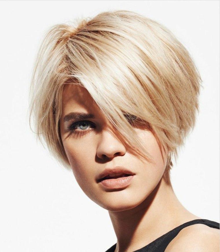 corte de pelo corto para cabello fino