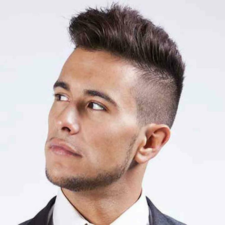 peinados para pelo corto hombre-elegante