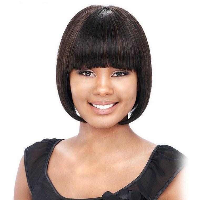 peinados para pelo corto-liso-mujeres