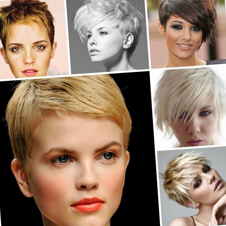 peinados para pelo corto modernos-mujeres