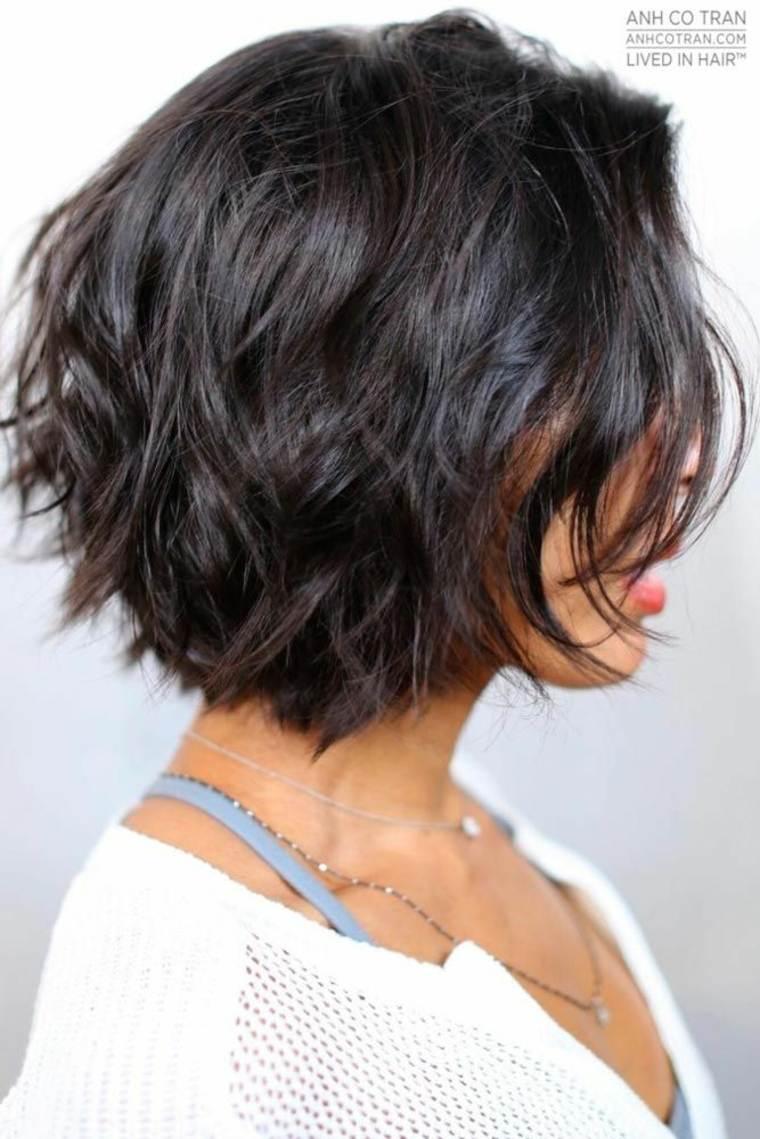 corte de pelo doble capa
