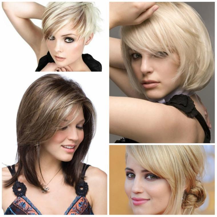 peinados para pelo corto-mujeres-modernas
