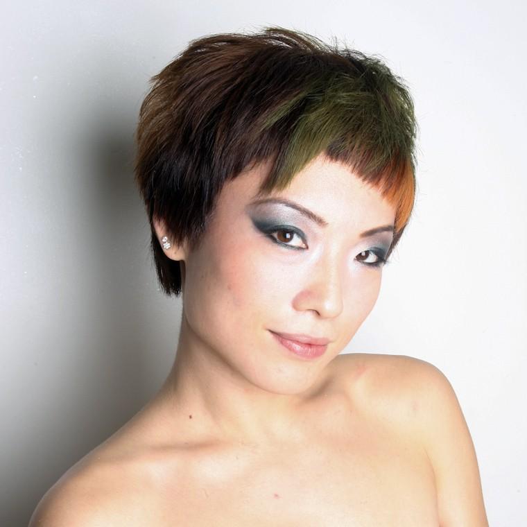 peinados para pelos cortos flequillo-asimetrico