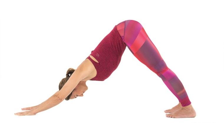 posturas de yoga-adho-mukha