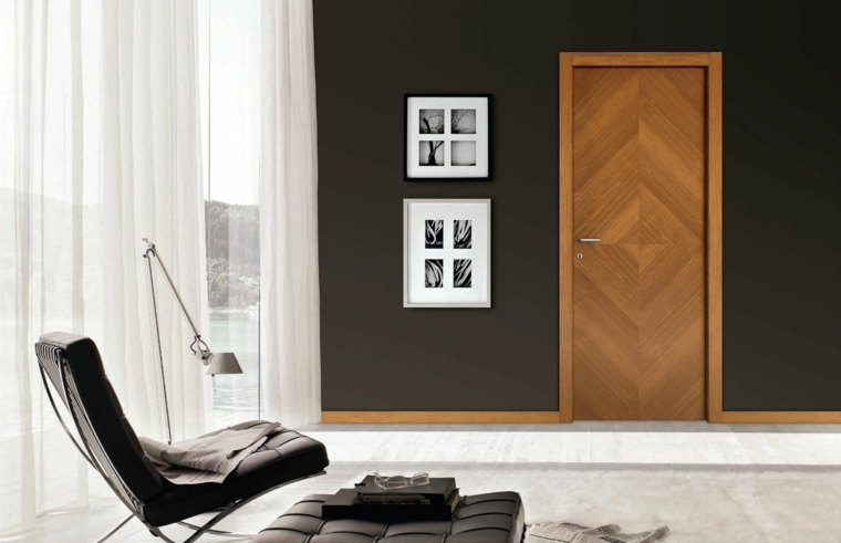 puerta de entrada-madera-decorar-casa