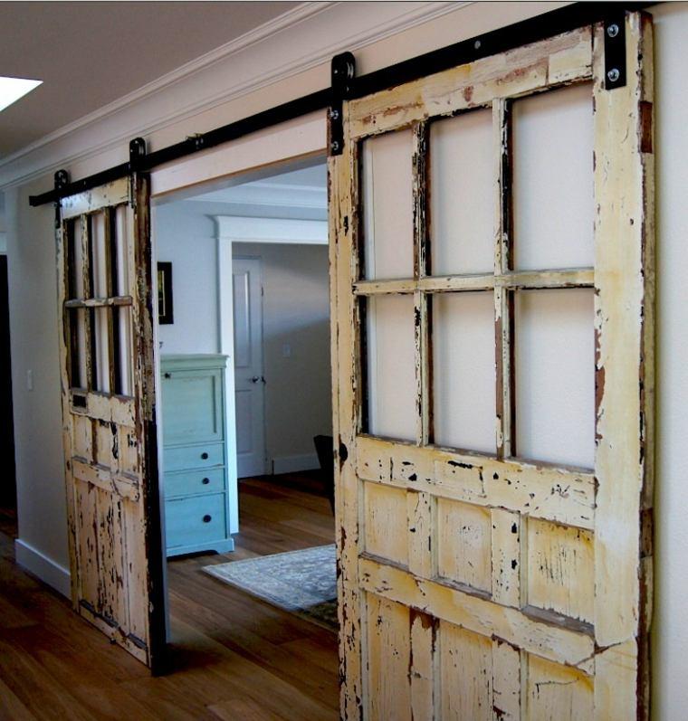 puerta del granero