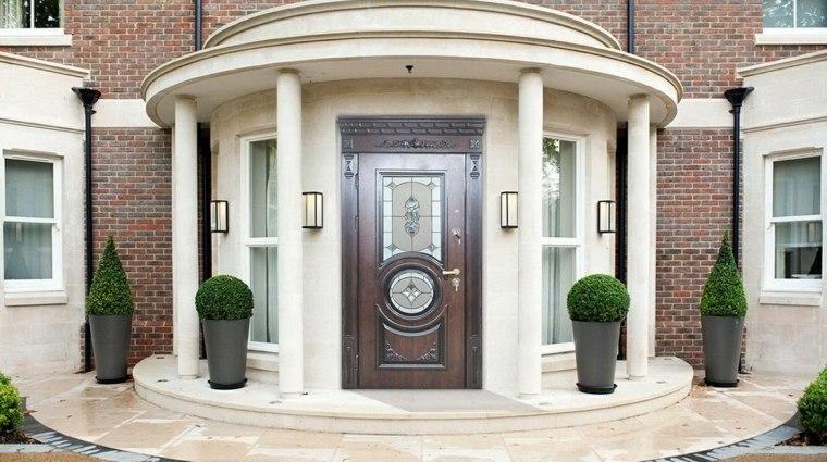 Puertas de entrada sus tipos y caracter scitas para pisos for Puertas entrada baratas