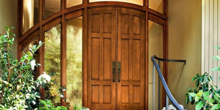 Puertas de entrada sus tipos y caracter scitas para pisos - Puertas de entrada de diseno ...