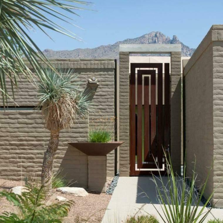 puertas de entrada-casa-moderna