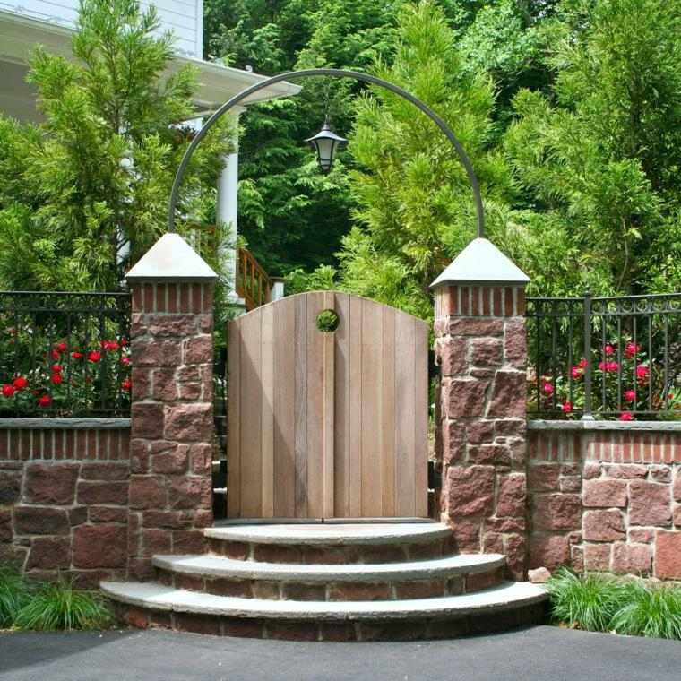puertas de entrada-jardin-casa