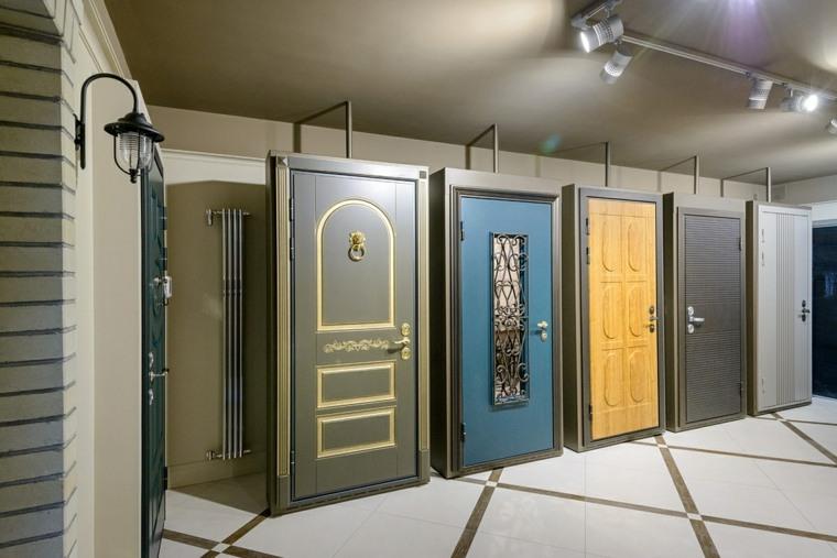 puertas de entrada rusticas-colores