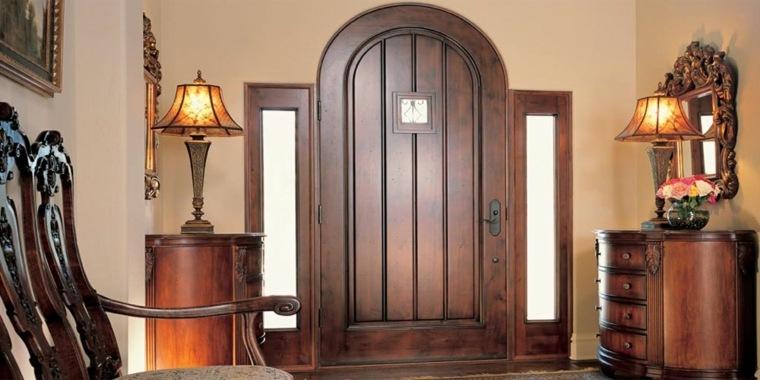 puertas de entrada rusticas-decorar