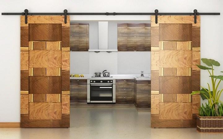 puertas de interior diseño madera
