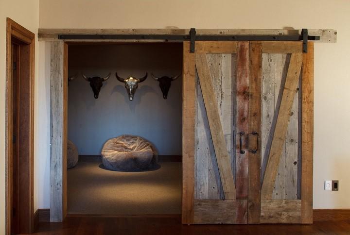 puertas de interior diseño zonas rusticas
