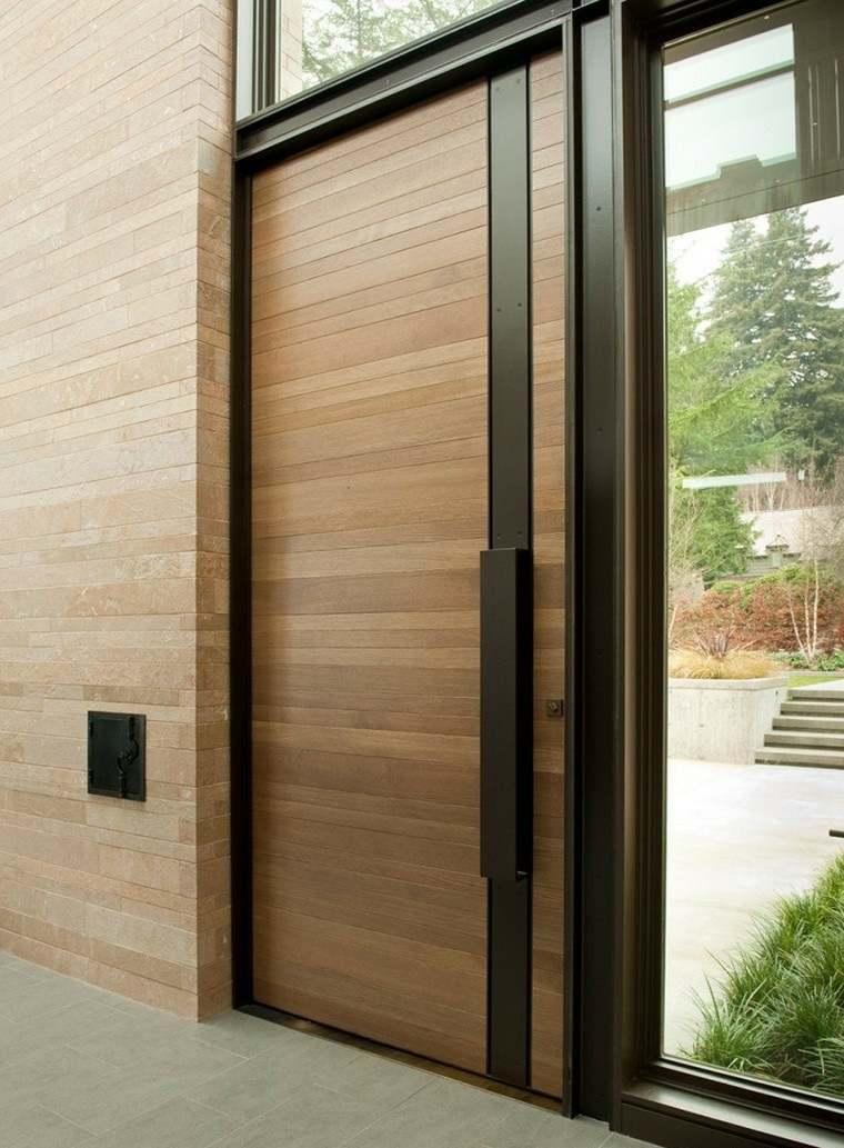 puertas entrada casa-moderna-elegante