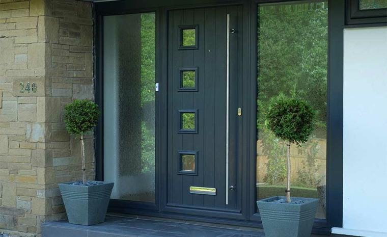 puertas entrada-exterior-modernas-elegantes