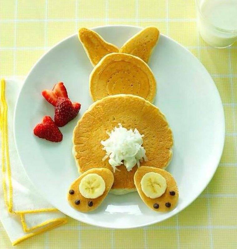 recetas de pancakes conejo