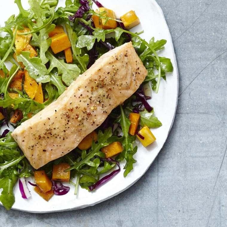 recetas saludables bajar de peso-salmon-asado