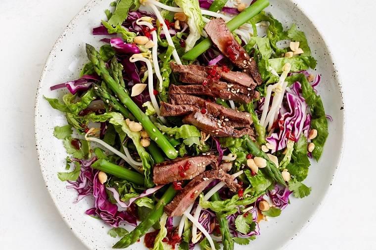 recetas saludables-opciones-ensaladas-verduras