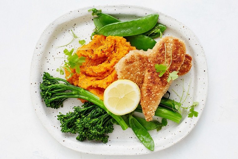 recetas saludables-opciones-pollo-pure-calabaza